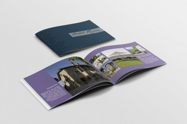 "booklet-8 8.5""x5.5"" booklets with 14pt cover"