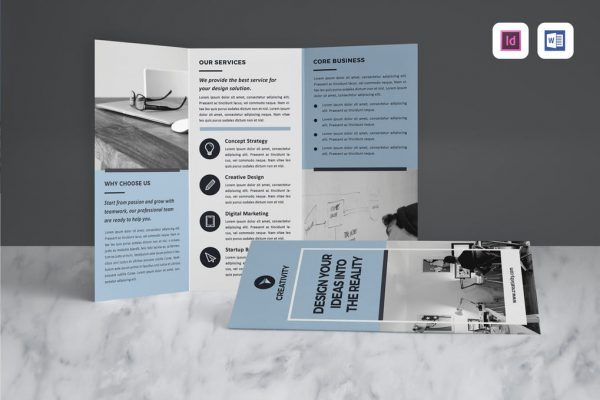 matte finish brochures