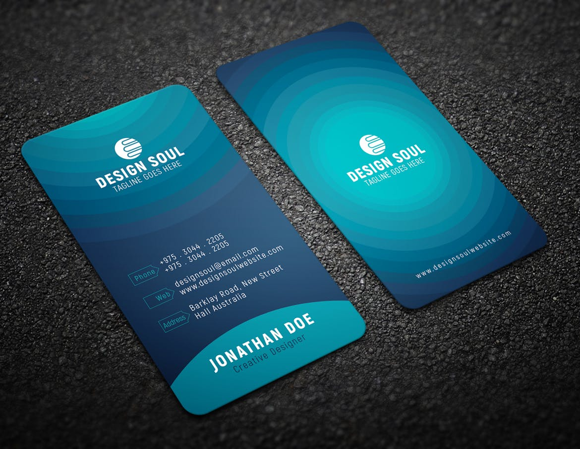 28 30Pt Rounded Corner Business Cards
