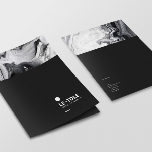 matte laminated presentation-folder-2 standard uv standard aq