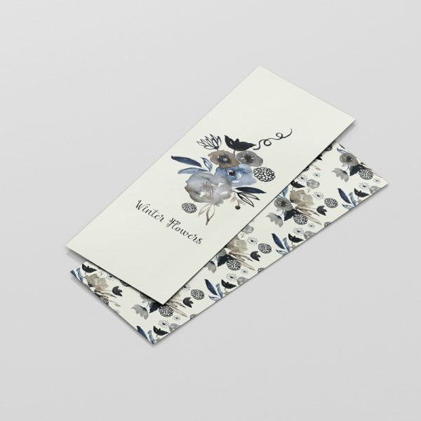 bookmark-winterflowers