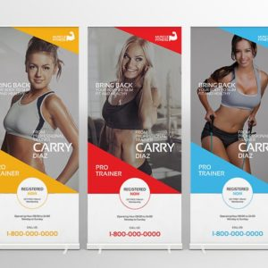 standard pull-up banners