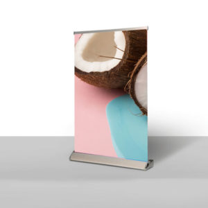 table top pull-up banners