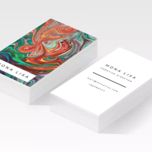 pearl paper business cards